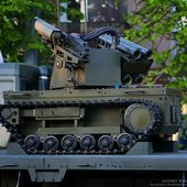 New Russian combat robot Platform-M armed with assault rifle and grenade launchers 12407152 | weapons defence industry military technology UK | analyse focus army defence military industry army