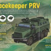 Singapore Army commissions Peacekeeper Protected Response Vehicle (PRV) armoured vehicle 31007153 | July 2015 Global Defense Security news UK | Defense Security global news industry army 2015