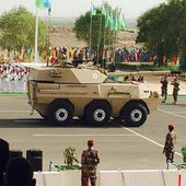 Djiboutian Army Unveiled for the First Time WMA301 105mm Wheeled Tank Destroyer During Parade 33006153 | June 2015 Global Defense Security news UK | Defense Security global news industry army 2015