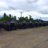 Second and final batch of AT-105 Saxon APC arrived to Ukraine 32206151 | June 2015 Global Defense Security news UK | Defense Security global news industry army 2015