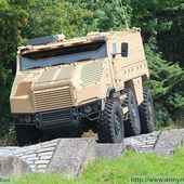 TATRA TITUS 6x6 armored personnel carrier live demonstration and test drive Army Recognition 10906152 | weapons defence industry military technology UK | analyse focus army defence military industry army