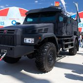 Russian Company Asteys Unveiled Modernized Armored Vehicle Patrol-A during Army 2015 31906153 | June 2015 Global Defense Security news UK | Defense Security global news industry army 2015