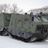 Russian Armored articulated all-terrain tracked carrier DT-3PM unveiled for the first time | March 2015 Global Defense Security news UK | Defense Security global news industry army 2015