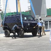 Government of Italy has donated military trucks and armoured vehicles to Somalia to rebuild army | March 2015 Global Defense Security news UK | Defense Security global news industry army 2015