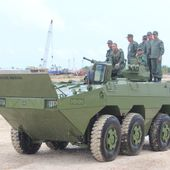Venezuelan Marines Corps showcases its new VN-1 Amphibious Armored Infantry Fighting Vehicle | March 2015 Global Defense Security news UK | Defense Security global news industry army 2015