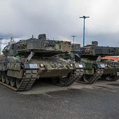 Finland has taken delivery of the first 20 Leopard 2A6 MBTs from the Netherlands 15051512 | May 2015 Global Defense Security news UK | Defense Security global news industry army 2015