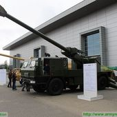 New EVA 6x6 155mm self-propelled howitzer unveiled by Slovak Defence Minister at IDET 2015 2405151 | May 2015 Global Defense Security news UK | Defense Security global news industry army 2015