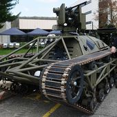 Ripsaw unmanned ground vehicle could lead U.S. army combat formation across enemy terrain 1005152 | weapons defence industry military technology UK | analyse focus army defence military industry army