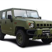 The new 4x4 Yongshi Warrior SUV will be soon delivered to the Chinese Army 12311152 | weapons defence industry military technology UK | analyse focus army defence military industry army