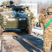 US Army soldiers in Lithuania received more than 50 vehicles including 17 Stryker armored 12201163 | Armies in the world analysis focus | analyse focus army defence military industry army