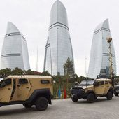 Israeli-made Plasan Sandcat 4x4 armoured vehicle now in service with Azerbaijan armed forces 12806161   June 2016 Global Defense Security news industry   Defense Security global news industry army 2016   Archive News year