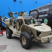 The VRC Cobra 4x4 light reconnaissance vehicle fully designed and developed by Colombian army 10312151 | Expodefensa 2015 News Online Show Daily Coverage | Defence security military exhibition 2015
