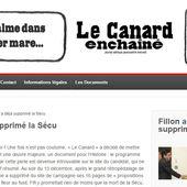 Fillon / Sécu : le Canard publie (en ligne !) le document disparu
