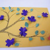 How to Make a Bunch of Flowers as a Gift for Mom on Mother's Day - Kids Crafts & Activities