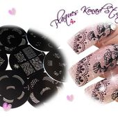 Boutique Konad, stamping nail art, kits personnalisables, plaques konad, vernis konad - Boutique KONAD by Onglissimo