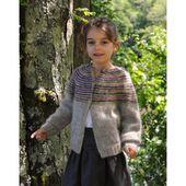 KIT DOLCE/FABEL GILET BONBON ENFANT - Luce laine tricot