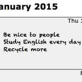 New Year's resolutions difficult to keep