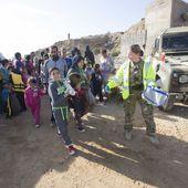 Des Syriens cherchent refuge sur une base britannique de la RAF. Chypre passe en première ligne
