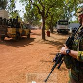Force protection belge en route vers Koulikoro