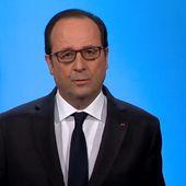 Hollande se dit fier de laisser à son successeur un pays plus fort, plus digne, plus soudé, plus cohérent qu'en 2012