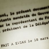 Les accords d'Évian : de l'eau non potable !