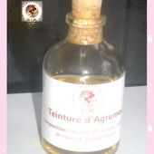 Teinture d'agrumes - Alcoholic tincture of citrus