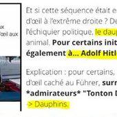 """Pour les politologues d'Europe 1, Marine Le Pen lance un appel aux """" néonazis """" en appelant un... dauphin"""