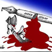 Akram Reslan, caricaturiste mort sous la torture