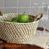 Hemp Basket - Free Crochet Pattern | Craft Passion - Page 2 of 2