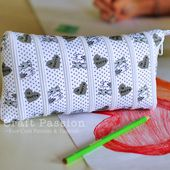 Zip-It-Up Pencil Pouch - Free Sew Pattern