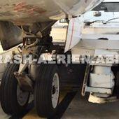 Abaissement de train au repoussage d'un avion de Air Algérie