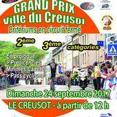 GRAND PRIX DE LA VILLE DU CREUSOT 2017