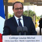 Discours d'inauguration du nouveau collège Louise Michel de Clichy-sous-Bois #Rentree_2014