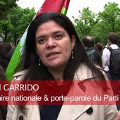 Témoignage de Raquel Garrido (PG) contre la Loi Renseignement