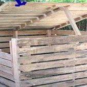 Fabriquer un composteur en palette ou bois de récup