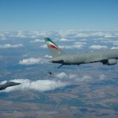 Aerial Refuelling Clearance for Italian KC-767