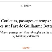 Couleurs, passages et temps : notes sur l'art de Guillaume Bottazzi
