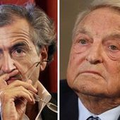 Bernard-Henri Lévy et George Soros en campagne mondiale contre Poutine