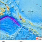 Earthquake, Magnitude 8.0 - BOUGAINVILLE REGION, P.N.G. - 2017 January 22, 04:30:25 UTC