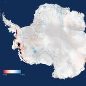 CryoSat finds sharp increase in Antarctica's ice losses