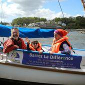 Handicap : Bohème découvre la voile grâce à l'association Barrez la différence - Faire Face - Toute l'actualité du handicap moteur