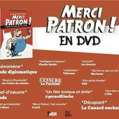 Le Parisien censure le DVD de Merci patron !