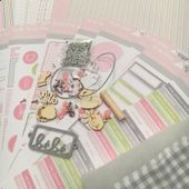 KIT201703F : KIT ALBUM MARS PAR ANNE FILLE