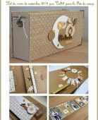 KIT201610 : KIT ALBUM OCTOBRE 2016 PAR ANNE fee du scrap