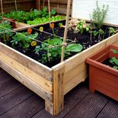 Container Gardening: DIY Planter box from pallets |
