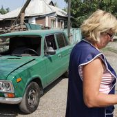 VIDEO. Ukraine : la haine entre habitants pro-ukrainiens et pro-russes...