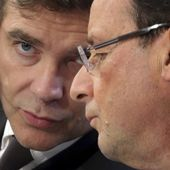 "VIDEO. Quand Arnaud Montebourg riait du surnom ""Flanby"" de Hollande"