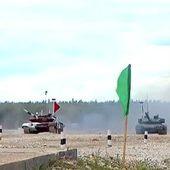 Biathlon des tanks : la Russie grande gagnante