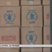 Syrie : la trêve tient, l'aide humanitaire arrive