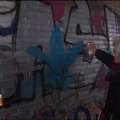 VIDEO. Une grand-mère allemande combat les néo-nazis à la bombe... de peinture